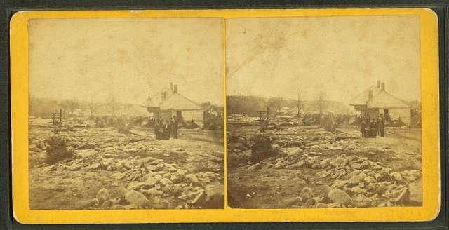 Stereoscopic views of the Mill River (Mass.) Flood, May, 1874.