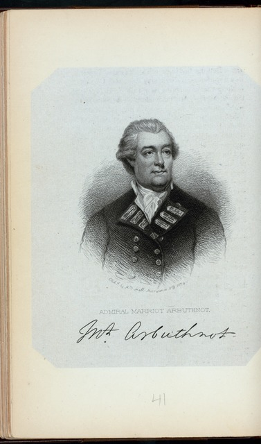 Admiral Marriot Arbuthnot.