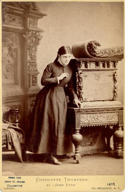 Charlotte Thompson as Jane Eyre.