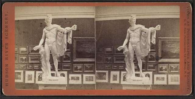 Art Gallery, Vassar College, with Apollo Belvedere.