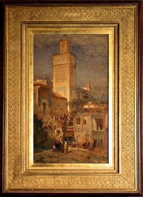 The Moorish Mosque of Sidi Haloui, Tlemcin, Algeria