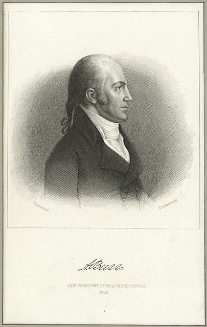 [Aaron Burr,] Vice President of the United States, 1802.