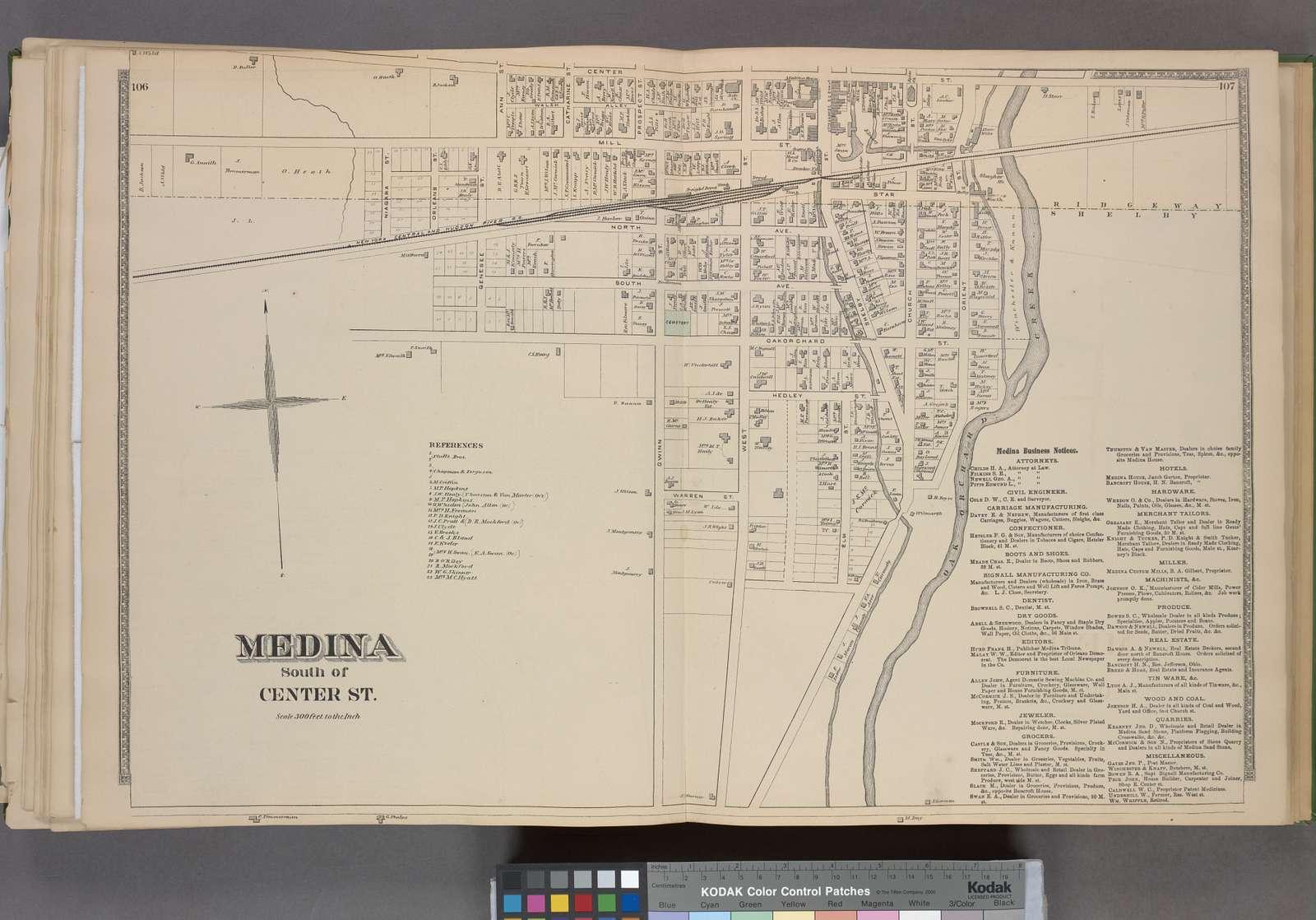Medina South of Center St. [Village]