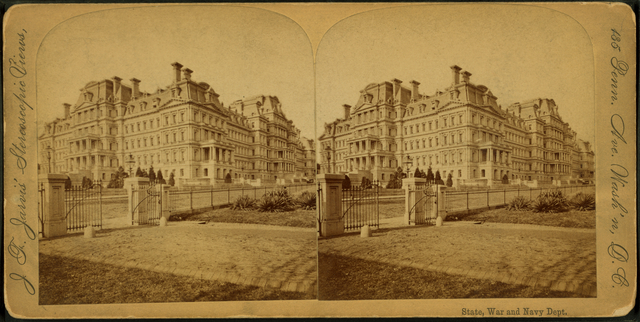 State, War and Navy departments, Washington, D.C..