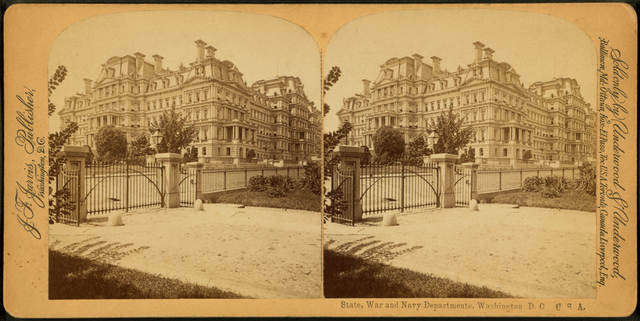 State, War and Navy Departments, Washington, D.C., U.S.A.