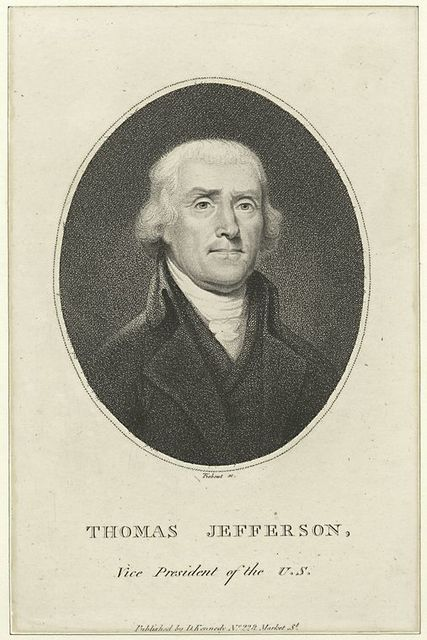 Thomas Jefferson, Vice President of the U.S.