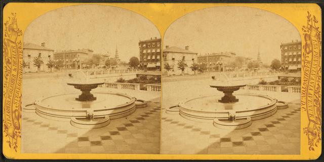 Treasury Fountain & New York Avenue.