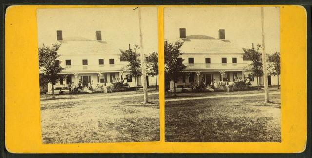 [View of a home in Centre Sandwich, N.H.]
