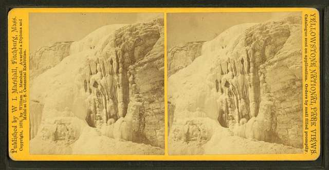 Snowy Cascades, Lime Formation.