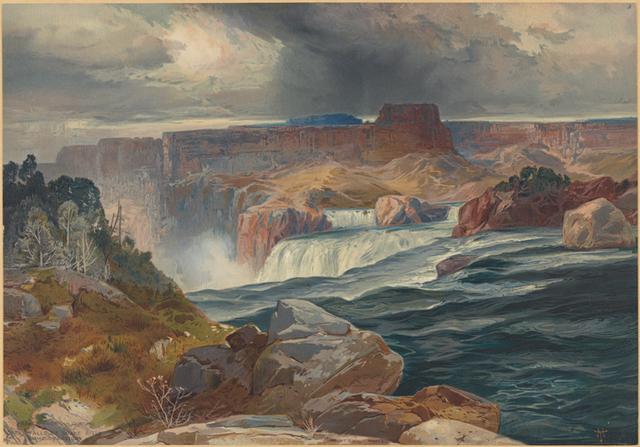 Great Falls of Snake River, Idaho