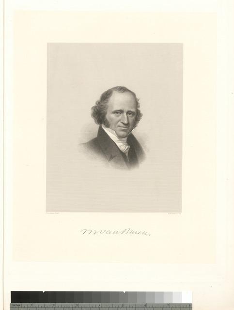 [Martin Van Buren.]