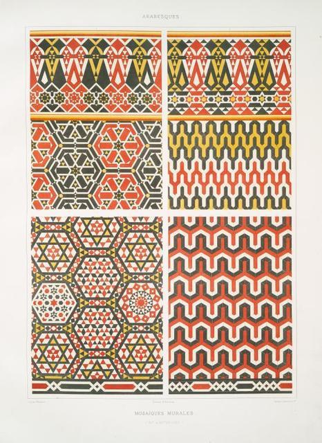 Arabesques : mosaïques murales (XIIe. & XIVe. siècles)