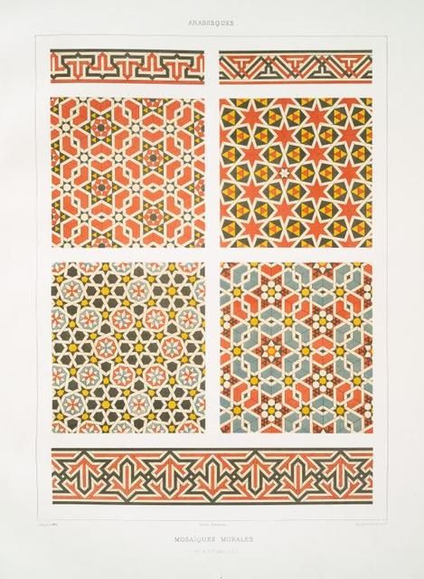 Arabesques : mosaïques murales (XVe. & XVIe. siècles)