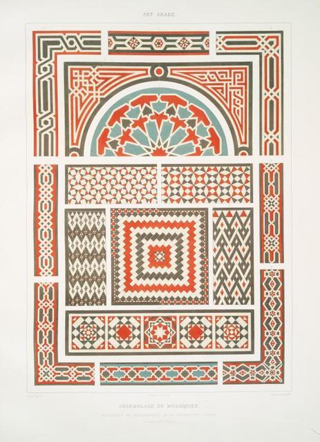Assemblage de mosaïques, fragments de revêtements & de pavements divers (du XVe. au XVIIIe. siècle)