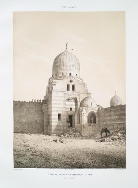 Tombeau attribué a Mahmoud Djanum (XVIe. siècle)