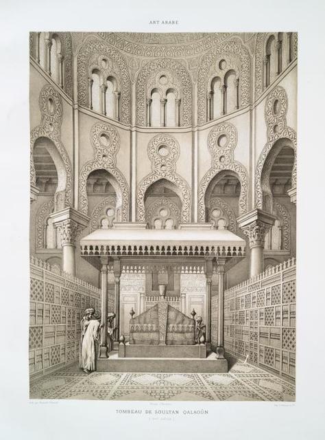 Tombeau de soultan Qalaoûn (XIVe. siècle)