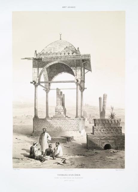 Tombeau d'un émir dans le cimetière de Karafeh (XVIIIe. siècle)