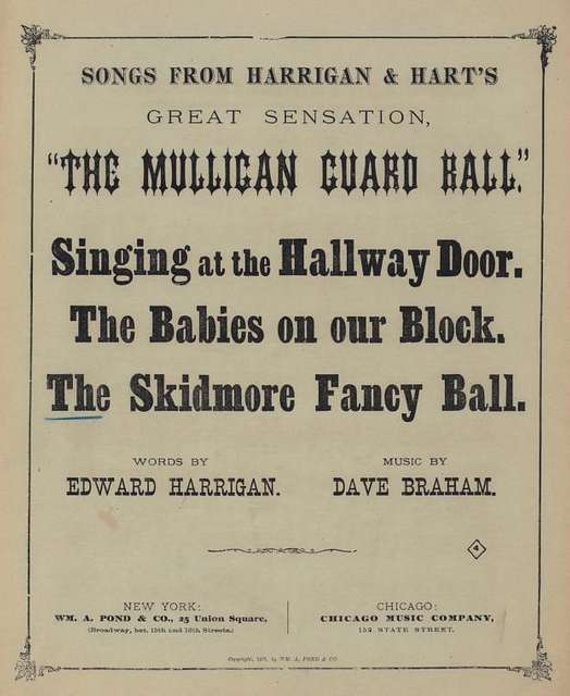 The Skidmore fancy ball : song and march