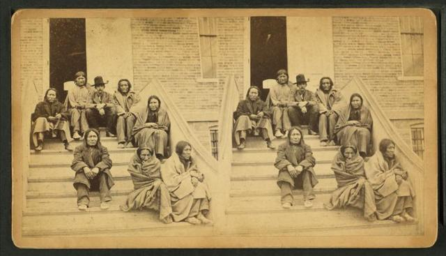 [Indians who broke out of their reservation in Indian territory & made a raid across Kan in 1879 & killed settlers near Great Bend & other places. ]
