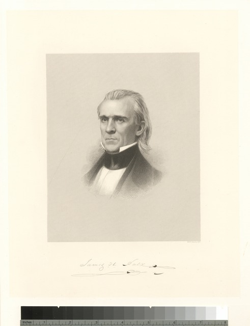 James Knox Polk.