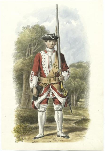 Revolutionary War era soldier