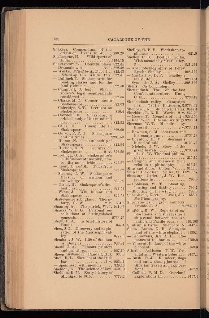 Catalog of the Public library of Toledo