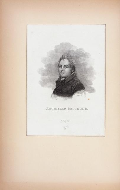 Archibald Bruce, M.D.
