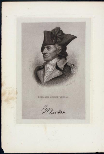 Brig. Gen. George Weedon.