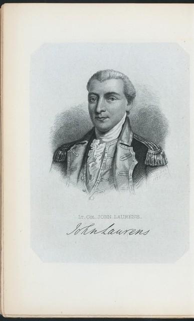 Lt. Col. John Laurens.