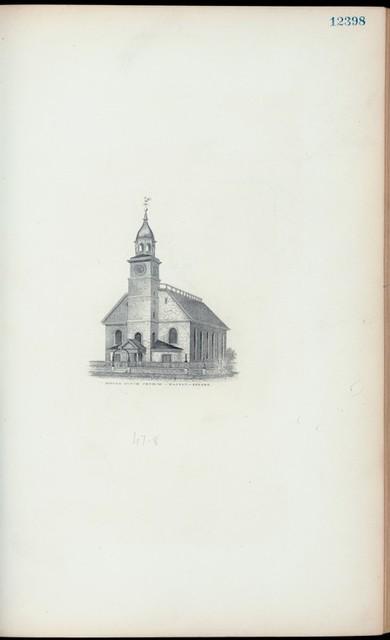Middle Dutch Church, Nassau Street.