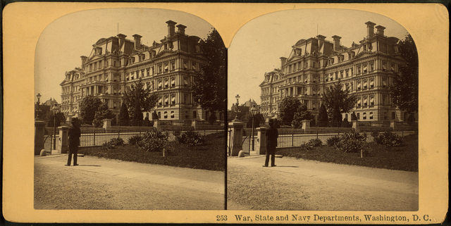 War, State and Navy Departments, Washington, D.C..