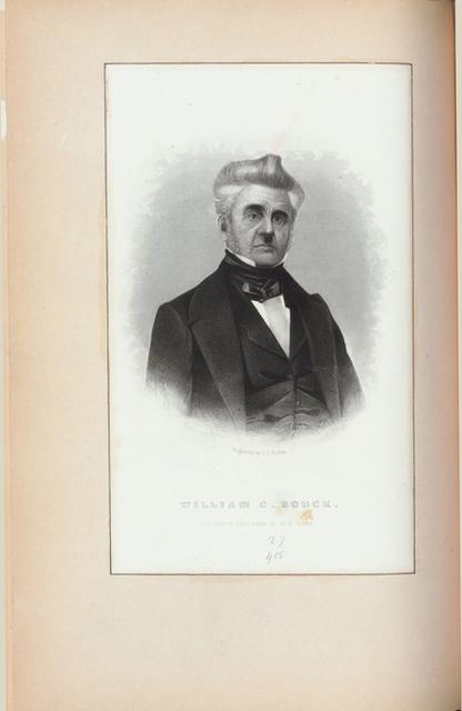 William C. Bouck, eleventh governor of New York.
