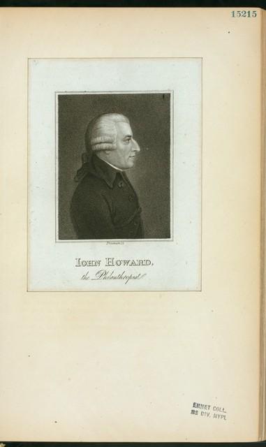 Iohn Howard, the philanthropist.