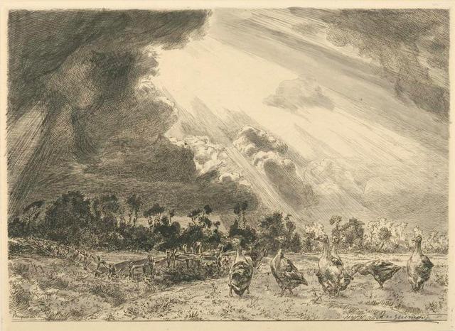 La nuée d'orage.
