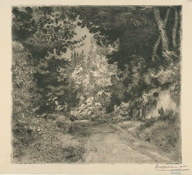 Le Chemin des Coutures, à Sèvres.