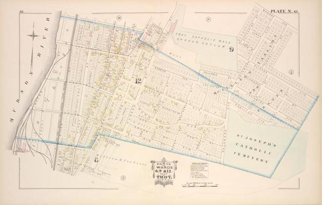 Parts of Wards 6, 9 & 12. [Plate N.]
