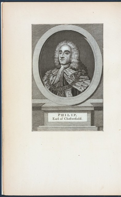 Philip, earl of Chesterfield.