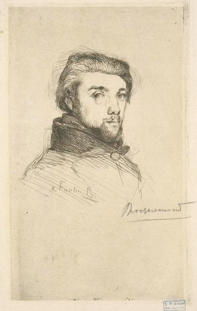 [Fantin-Latour, peintre, gravé d'après nature.]