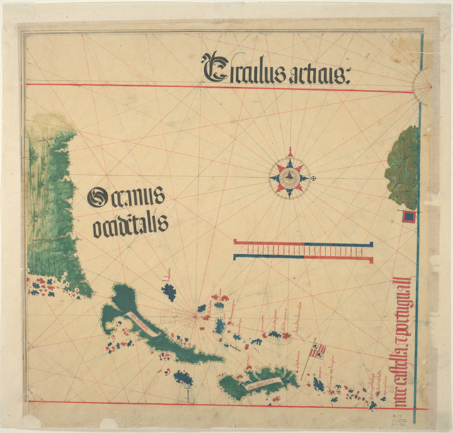 Circulus articus oceanus occidentalis.