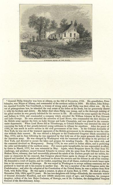 Schuyler House at the Flats