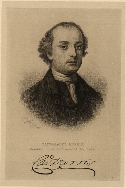 Cadwalader Morris, member of the Continental Congress.
