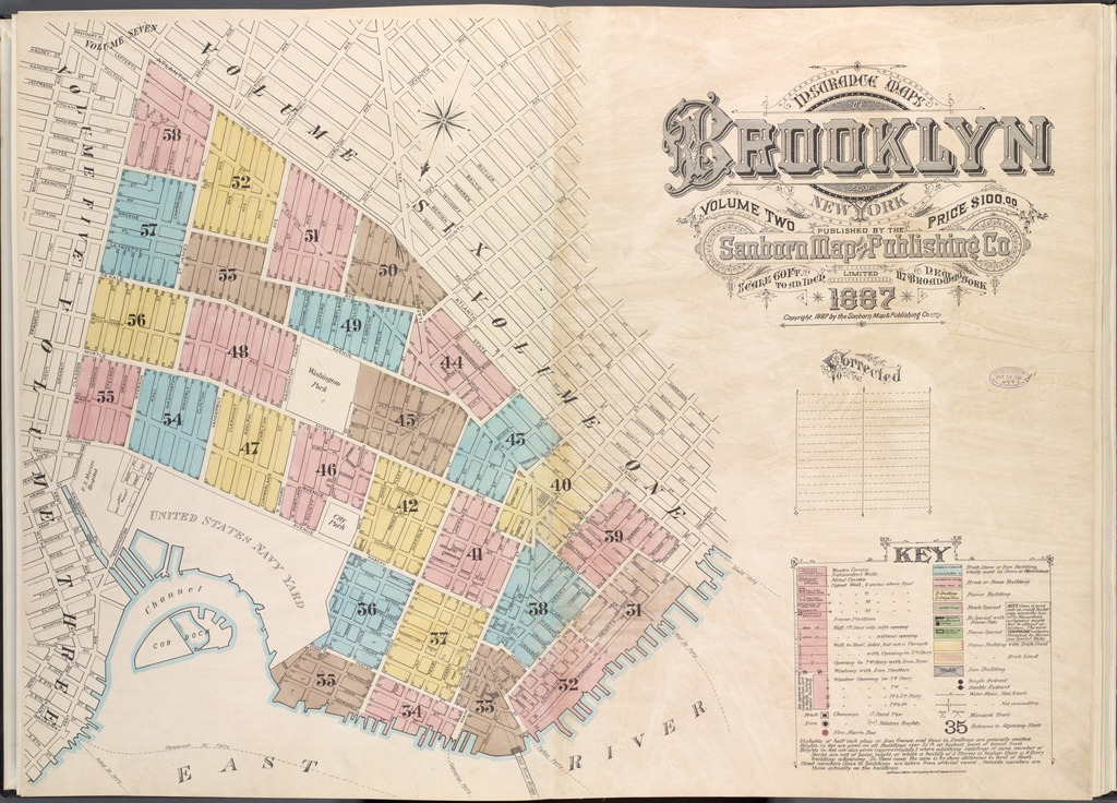 Insurance Maps of Brooklyn New York V. 2, Published by the ... on map of tillson ny, map of paul smiths ny, map of jackson ny, map of appleton ny, map of north river ny, map of south otselic ny, map of strykersville ny, map of nelson ny, map of le roy ny, map of south colton ny, map of tioga ny, map of kingsbury ny, map of kent ny, map of winthrop ny, map of glenfield ny, map of dickinson ny, map of afton ny, map of pine island ny, map of vernon center ny, map of scipio center ny,