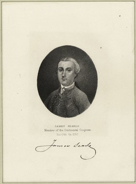 James Searle, member of the Continental Congress.