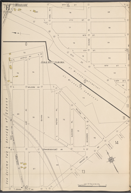 Queens V. 10, Plate No. 11 [Map bounded by 18th St., Grand Ave., 20th St.]