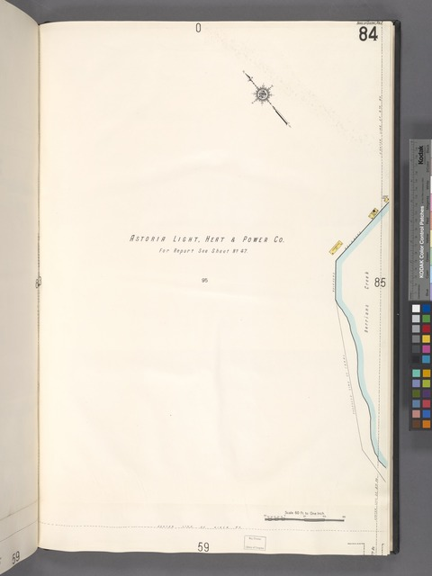 Queens V. 2, Plate No. 84 [Map bounded by Astoria Light, Heat & Power Co., Berrians Creek]