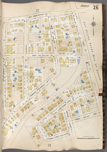 Queens V. 6, Plate No. 26 [Map bounded by 84th Dr., 164th St., Pavo Rd., Yuma Lane, 180th St.]