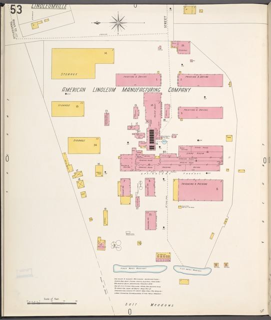 Richmond, Plate No. 53 [Map bounded by Street, Vacant, Salt Meadows]