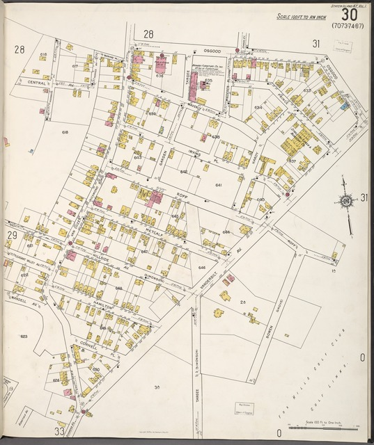 Staten Island, V. 1, Plate No. 30 [Map bounded by Osgood Ave., Bowen, Central Ave.]
