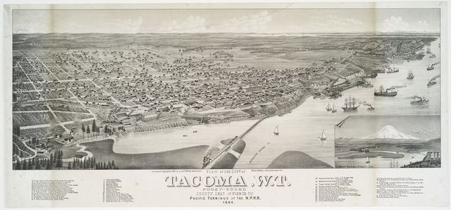 View of the city of Tacoma, W.t.