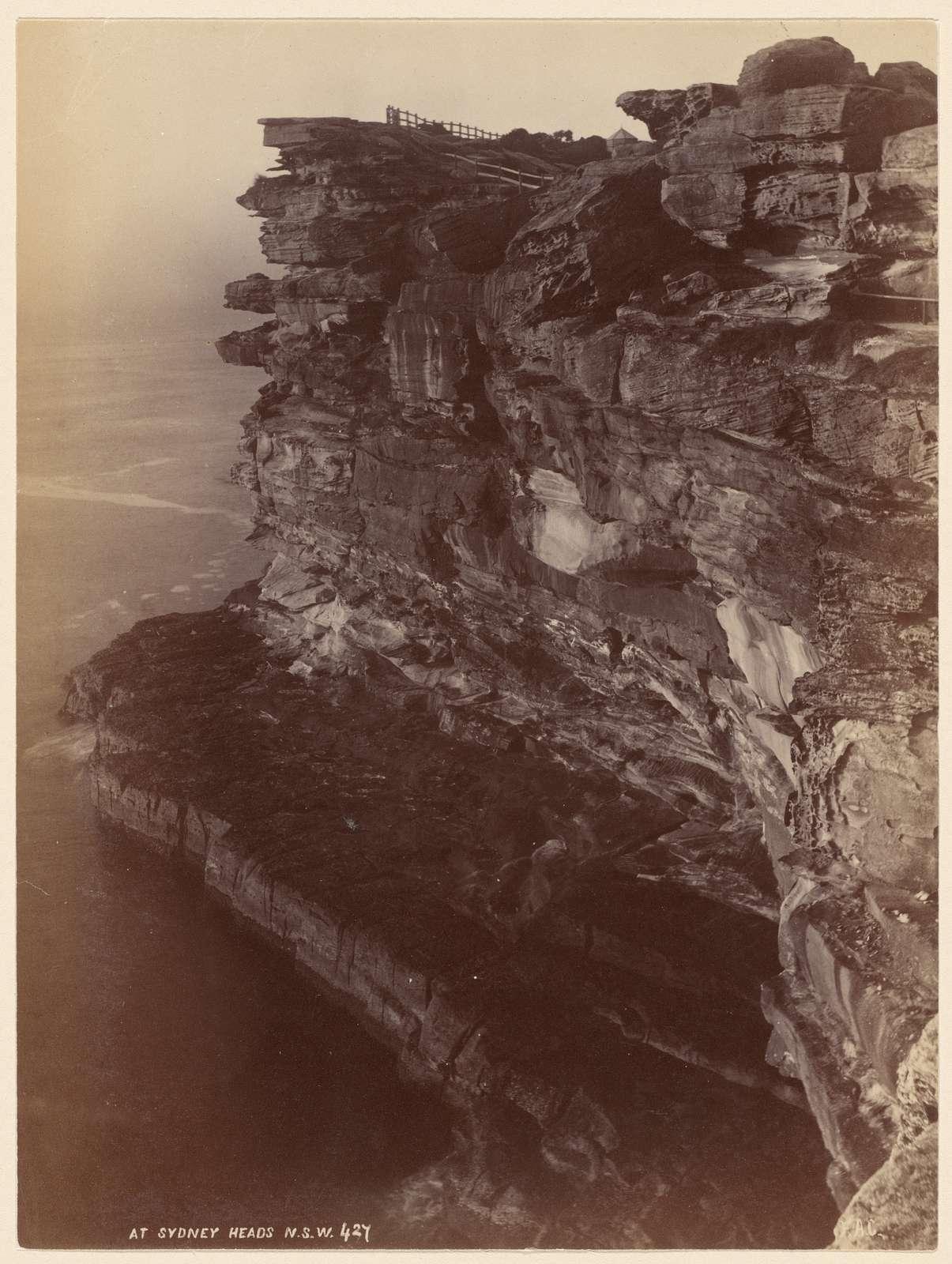 At Sydney Heads, N. S. W.